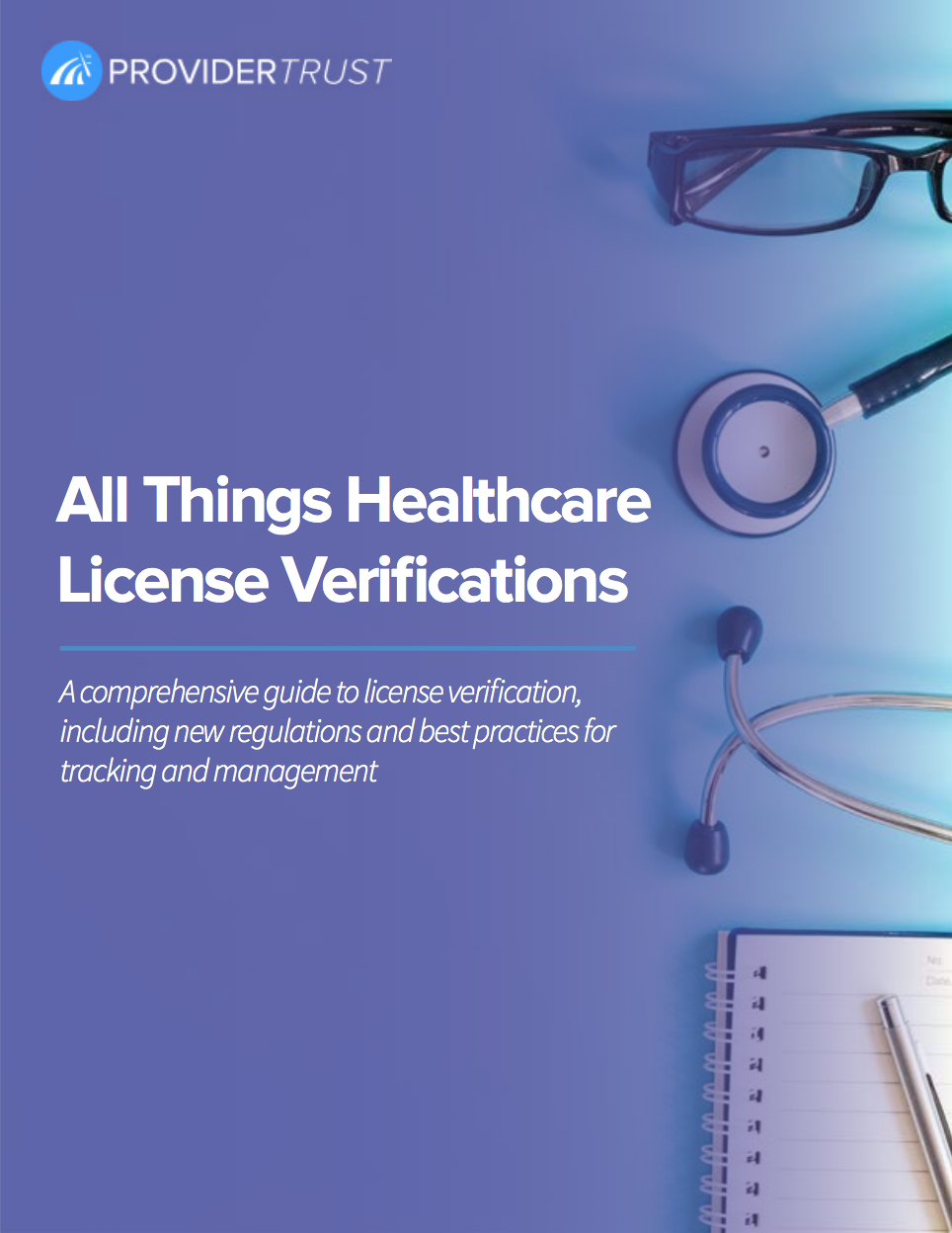 healthcare license verification ebook