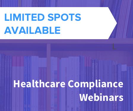 free healthcare compliance webinars