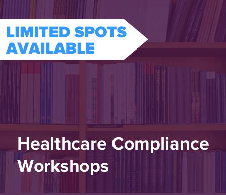 free healthcare compliance workshops